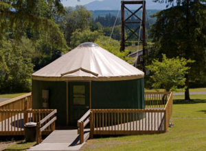 Rent A Yurt At A King County Park Near Seattle Northwest