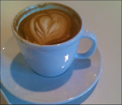 Latte at Cafe Veneto