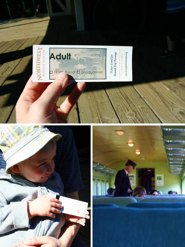 Snoqualmie Train Ride Tickets