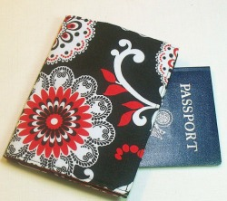 Passport Cover on Etsy