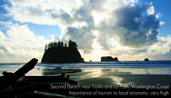 Second Beach on the Washington Coast